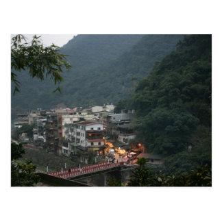 Cartão Postal Wulai, Taipei County, Formosa