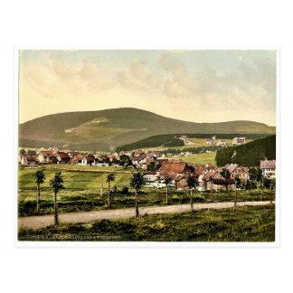 Cartão Postal Wurmberg, Braunlage, Hartz, Alemanha Photochro