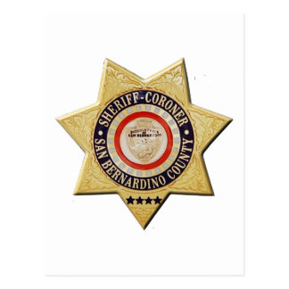 Cartão Postal Xerife-Juiz de San Bernardino