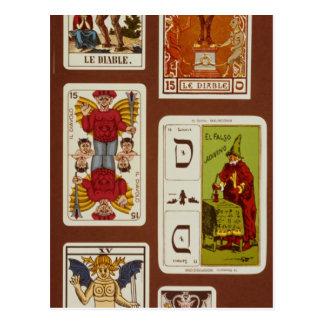 Cartão Postal XV o diabo