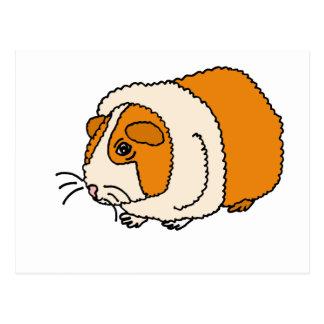 Cartão Postal XX- desenhos animados bonitos da cobaia