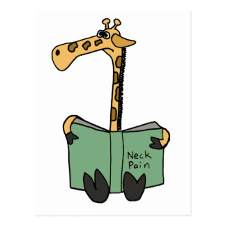 Cartão Postal XX- desenhos animados engraçados do livro da dor