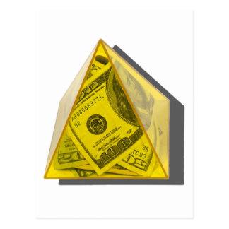 Cartão Postal YellowPowerPyramidMoney021411