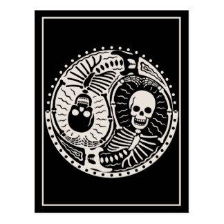 Cartão Postal Yin e ossos