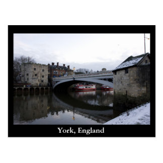 Cartão Postal York, Inglaterra