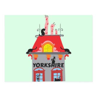 Cartão Postal Yorkshire