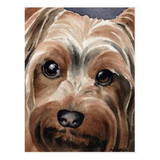 Cartão Postal Yorkshire terrier