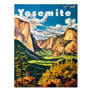 Cartão Postal Yosemite