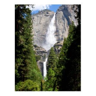 Cartão Postal Yosemite Falls em maio