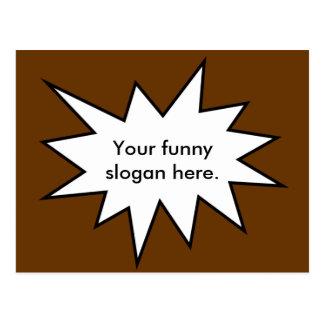 Cartão Postal your-funny-slogan-here01