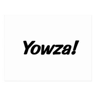 Cartão Postal yowza