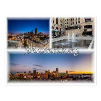 Cartão Postal ZA África do Sul - Joanesburgo Joburg -