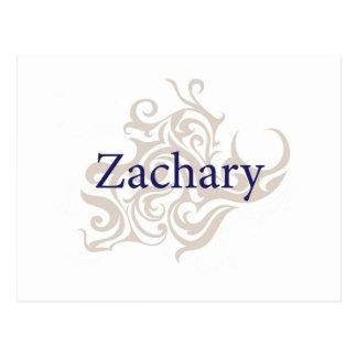 Cartão Postal Zachary