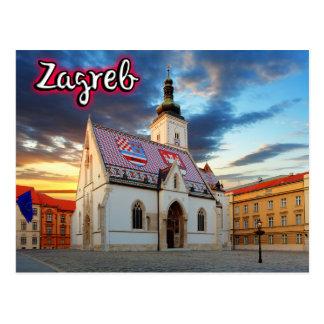 Cartão Postal Zagreb