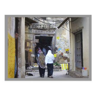 Cartão Postal Zanzibar