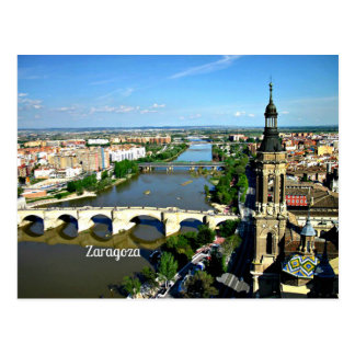 Cartão Postal Zaragoza, espanha