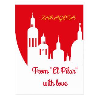Cartão Postal Zaragoza, Spain