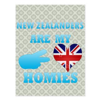 Cartão Postal Zealanders novo é meu Homies