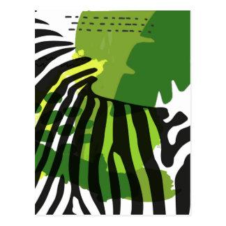 Cartão Postal Zebra africana