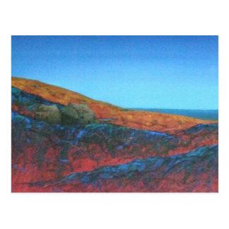 Cartão Postal Zennor amarra no crepúsculo, Cornualha