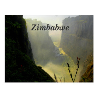 Cartão Postal Zimbabwe