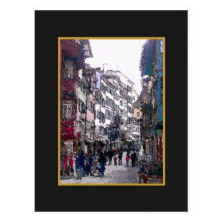Cartão Postal Zona antiga Zurique