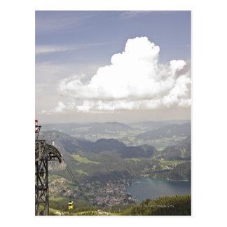 Cartão Postal zwoelferhorn, wolfgangsee, salzburg, salzburger