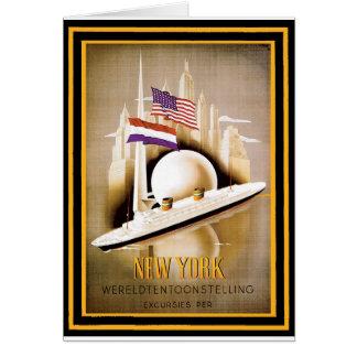 Cartão Poster 16 das viagens vintage