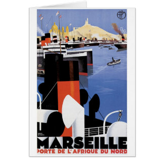 Cartão Poster de Marselha