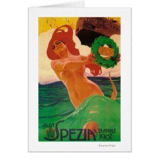 Cartão Poster do promocional de Alla Spezia