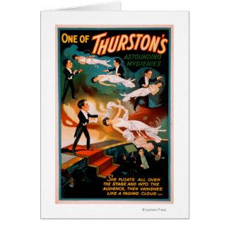 Cartão Poster surpreendente da mágica dos mistérios de