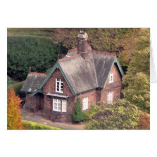 Cartão Pouca casa de campo