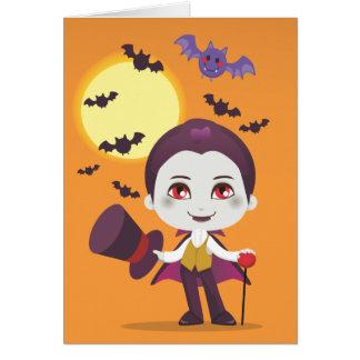 Cartão Pouca contagem Dracula