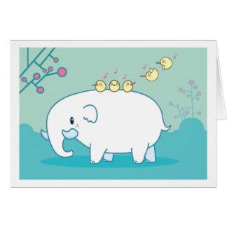 Cartão Pouco Lephant (vazio)