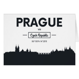 Cartão Praga, república checa