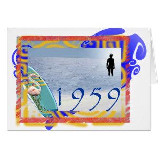 Cartão praia 1959