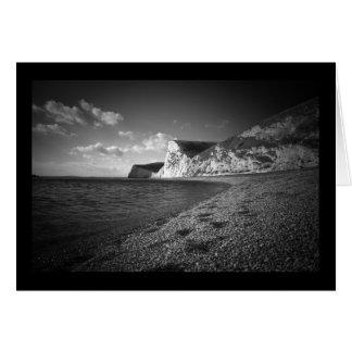 Cartão Praia da porta de Durdle, Dorset