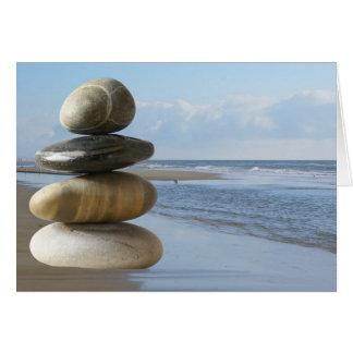 Cartão Praia do zen