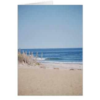 Cartão Praia quieta