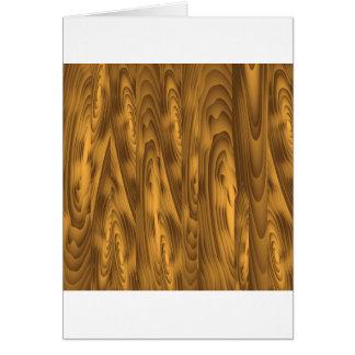 Cartão pranchas de madeira