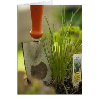 Cartão Prazer de jardinagem