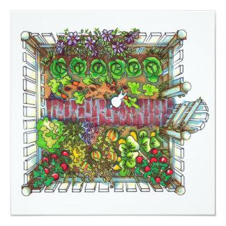 Cartão Prazer do jardim