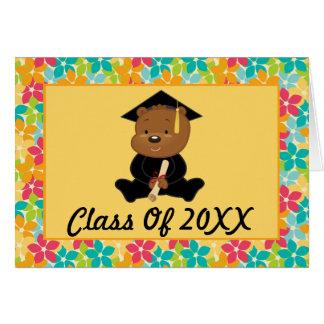 Cartão Pré-escolar ou graduação personalizada jardim de