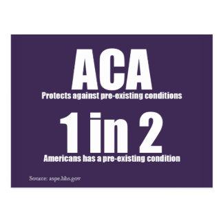 Cartão Pre-Existente da condição do ACA