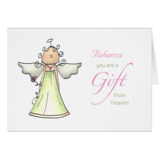 Cartão Presente do céu, nome do costume do aniversário da