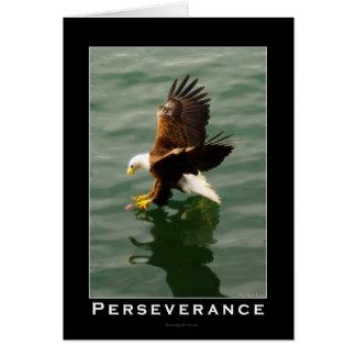 Cartão Presente inspirador da águia americana