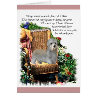 Cartão Presentes da arte de Dandie Dinmont Terrier