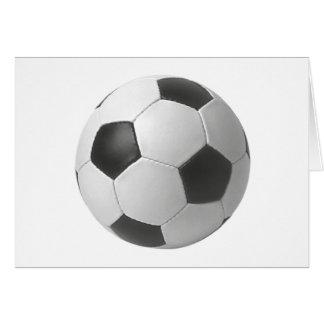Cartão Presentes da arte do futebol