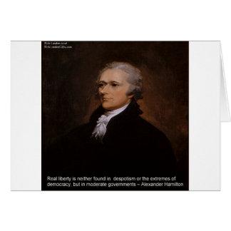 Cartão Presentes de Alexander Hamilton