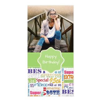 Cartão Presentes originais e do Special 95th da festa de